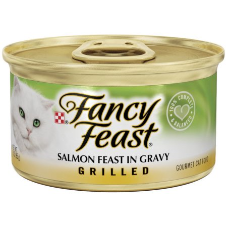 FANCY FEAST - (Salmon Feast Gravy | Grilled) - 3oz