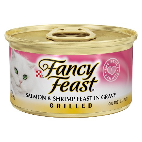 FANCY FEAST - (Salmon & Shrimp Feast Gravy | Grilled) - 3oz