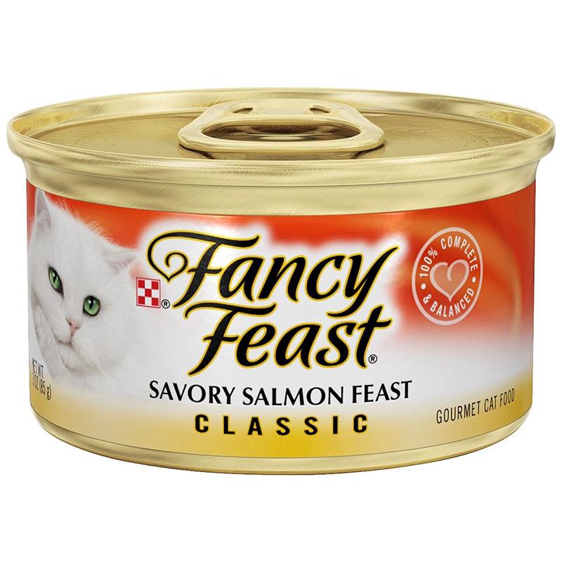 FANCY FEAST - (Savory Salmon Feast | Classic) - 3oz