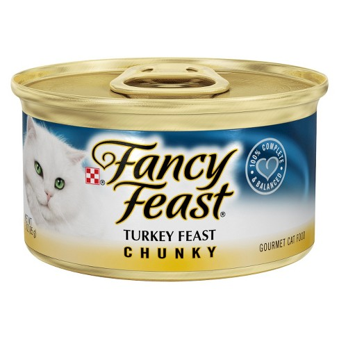 FANCY FEAST - (Turkey Feast | Chunky) - 3oz
