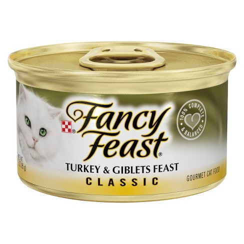 FANCY FEAST - (Turkey & Giblet Feast | Classic Pate) - 3oz
