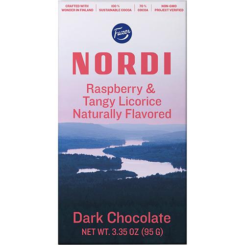 FAZER - NORDI (Raspberry & Tangy Licorice) - 3.35oz