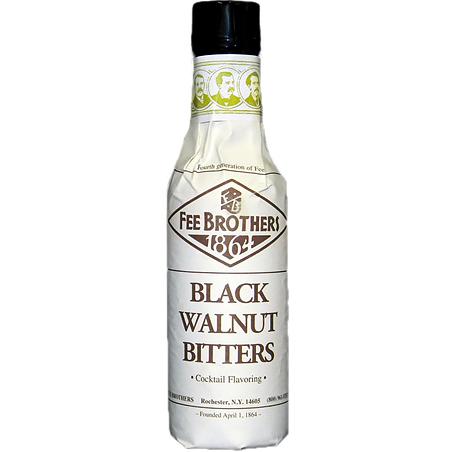 FEE BROTHERS - BITTERS - (Black Walnut Bitters) - 5oz