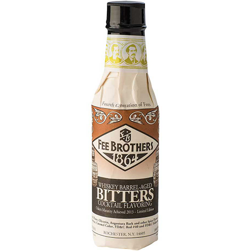 FEE BROTHERS - BITTERS - (Whiskey Barrel Aged) - 5oz