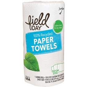 FIELD DAY - PAPER TOWELS - 1 ROLL