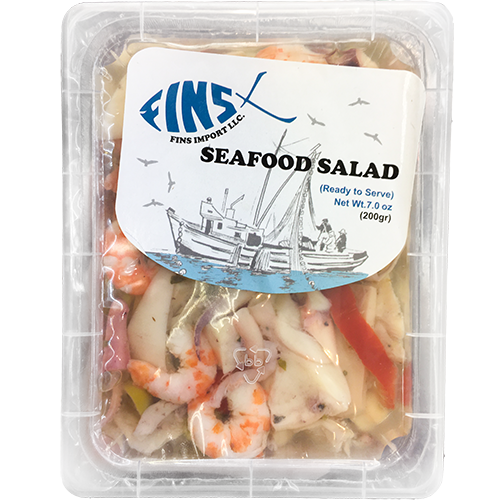 FINS IMPORT LLC - SEAFOOD SALAD - 7oz