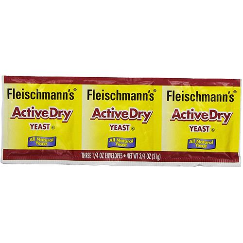 FLEISCHMANN'S - ACTIVE DRY YEAST - (Original) - 0.75oz