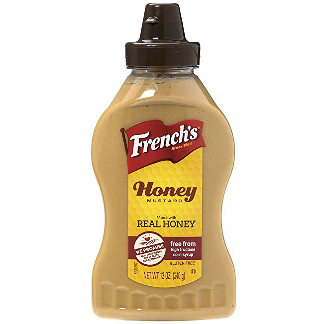 FRENCH'S - HONEY MUSTARD - GLUTEN FREE - SAUCE - 12oz