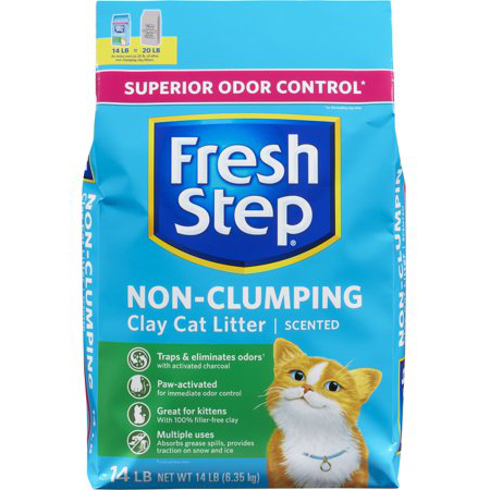FRESH STEP - Non-Clumping - 4lb