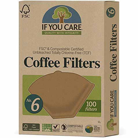 FSC - IF YOU CARE COFFEE FILTERS NO.6 - 100ct