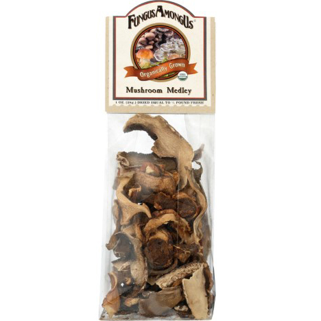 FUNGUS AMONG US - ORGANICALLY GROWN MUSHROOM MEDLEY - 1oz
