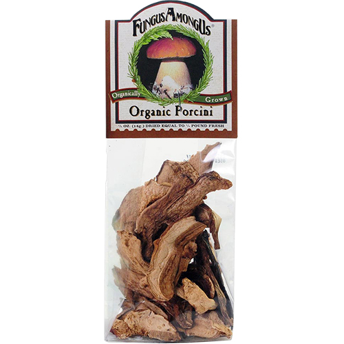 FUNGUS AMONG US - ORGANICALLY GROWN PORCINI - 1oz