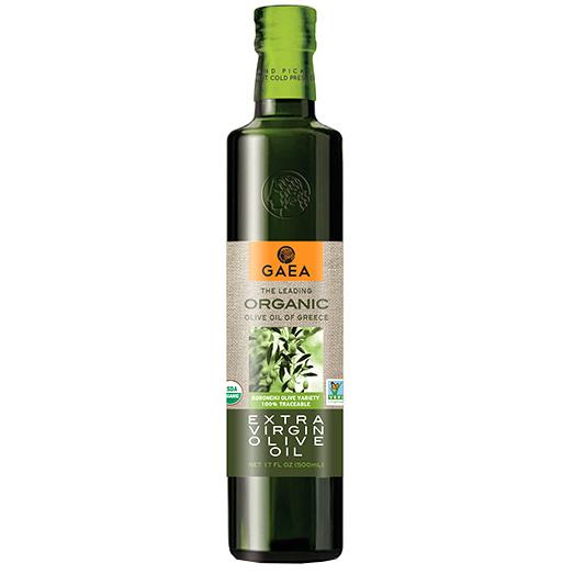 GAEA - ORGANIC EXTRA VIRGIN OLIVE OIL OF GREECE - NON GMO - 17oz