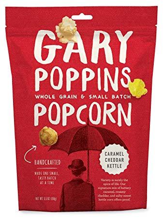 GARY POPPINS - POPCORN - (Caramel Cheddar Kettle) - 7oz