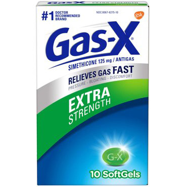 GAS-X - (Extra Strength) - 10SOFTGELS