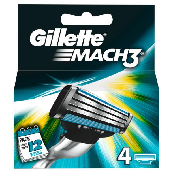 GILLETTE - MACH3 4CARTRIDGES