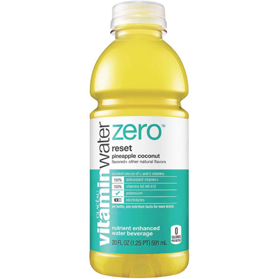 GLACEAU - VITAMIN WATER - (Reset | Pineapple Coconut) - 20oz