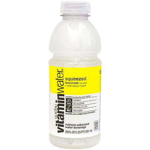 GLACEAU - VITAMIN WATER - (Squeezed | Lemonade) - 20oz