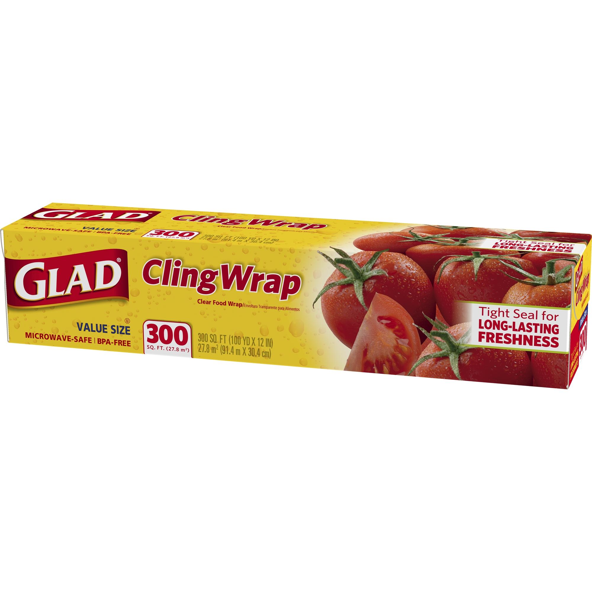 GLAD - CLING WRAP - 300sqft