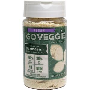 GO VEGGIE - GRATED PARMESAN - VEGAN - NON GMO - 4oz