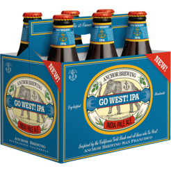 GO WEST! IPA - INDIA PALE ALE - (Bottle) - 12oz(6PK)