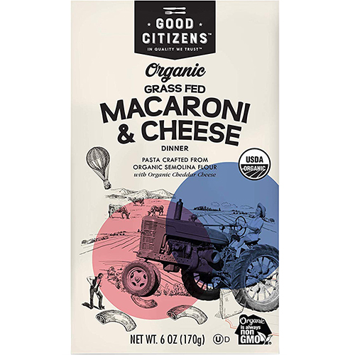 GOOD CITIZENS - MACARONI & CHEESE - (Grass Fed) - 6oz