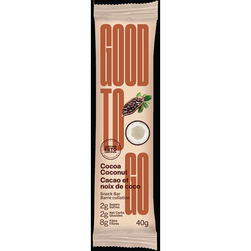 GOOD TO GO - SNACK BAR - (Cocoa Coconut) - 1.41oz