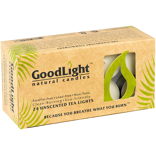 GOODLIGHT - 24 UNSCENTED TEA LIGHTS - 24PCS