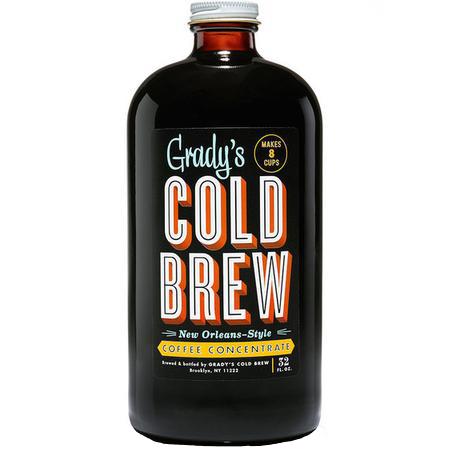 GRADY'S - LIL'EASY COLD BREW BLACK COFFEE - 32oz