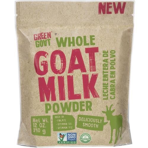 GREEN GOAT - WHOLE GOAT MILK - 12oz