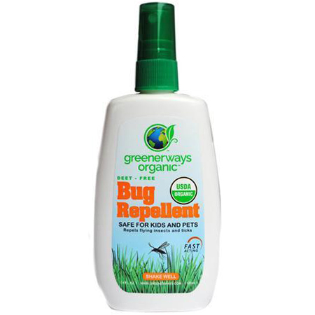 GREENERWAYS - BUG REPELLENT - 4oz