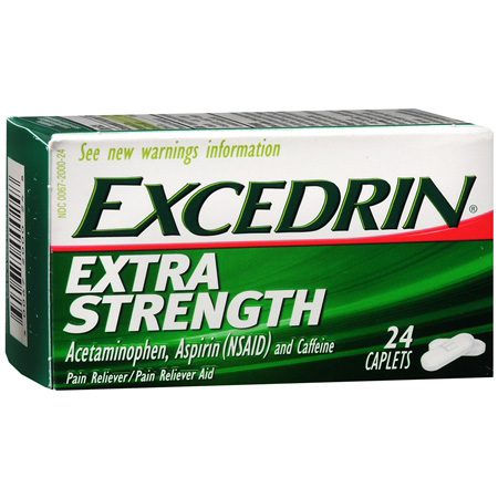 GSK - EXCEDRIN - (Extra Strength) - 24COUNTS