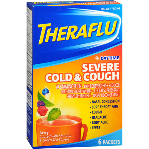 GSK - THERAFLU - (Daytime | Cold & Cough) - 6pck
