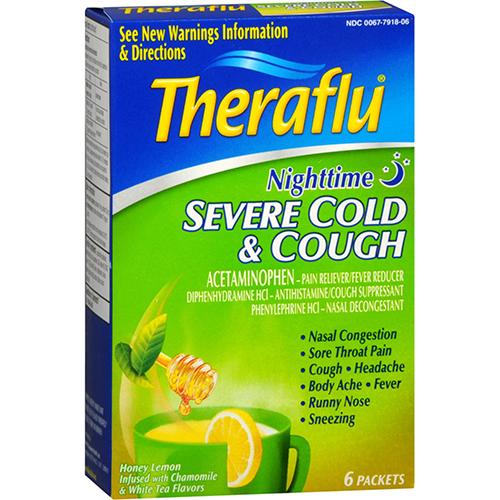 GSK - THERAFLU - (Nighttime | Cold & Cough) - 6pck