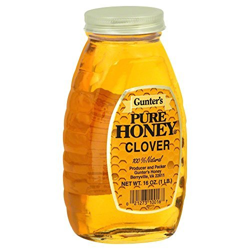 GUNTER'S - PURE HONEY - CLOVER - 16oz
