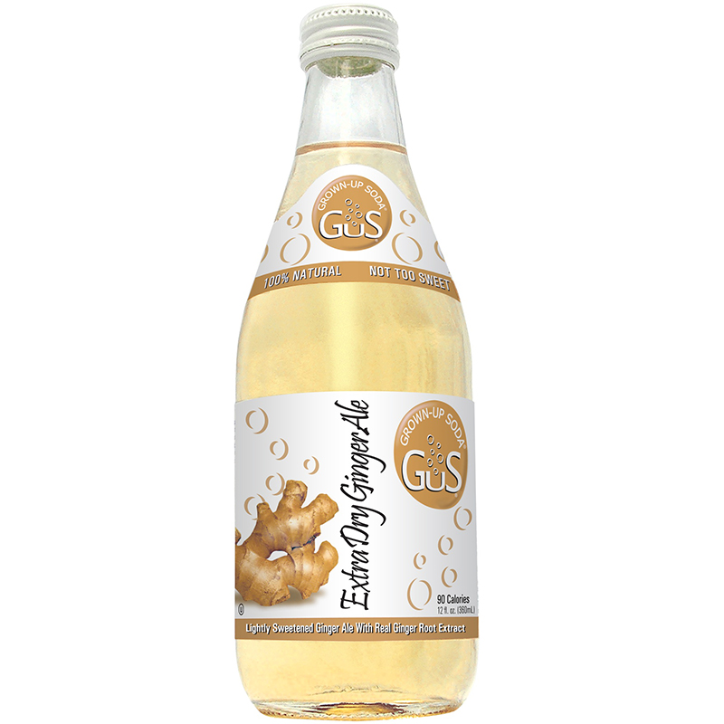 GUS - GROWN UP SODA - (Ginger Ale) - 12oz