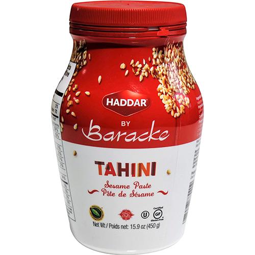 HADDAR - BY BARACKE TAHINI SESAME PASTE - 15.9oz