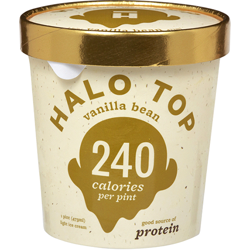 HALO TOP - VANILLA BEAN - 16oz