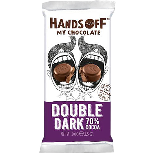 HANDS OFF - MY CHOCOLATE - (Double Dark Chocolate 77% Cocoa) - 3.5oz
