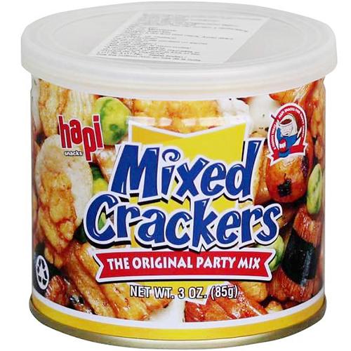HAPI - MIXED CRACKERS (The original party mix) -  3oz