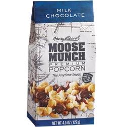 HARRY & DAVID - MOOSE MUNCH PREMIUM POPCORN - (Milk Chocolate) - 4.5oz