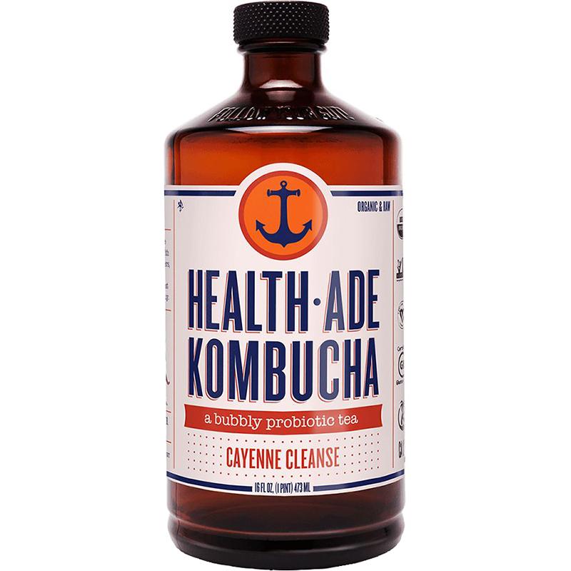 HEALTH ADE - KOMBUCHA TEA - (Cayenne Cleanse) - 16oz