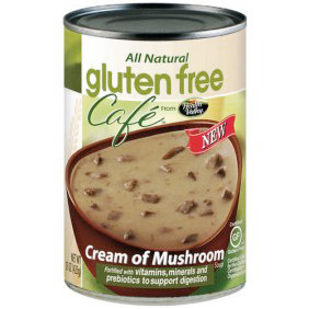 HEALTH VELLEY - GLUTEN FREE CAFE - GLUTEN FREE - (Cream of Mushroom Soup) - 15oz