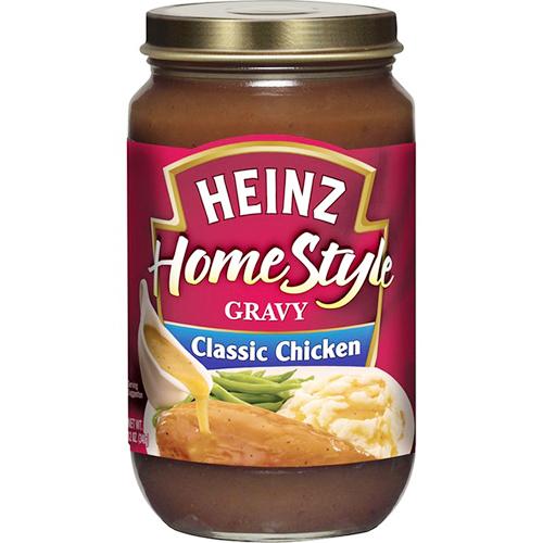 HEINZ - HOME STYLE GRAVY SAUCE - (Classic Chicken) - 12oz
