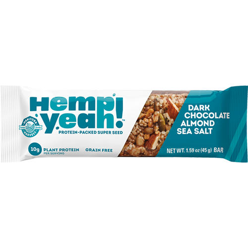 HEMP YEAH - PROTEIN PACKED SUPER SEED BAR - (Dark Chocolate Sea Salt) - 1.59oz