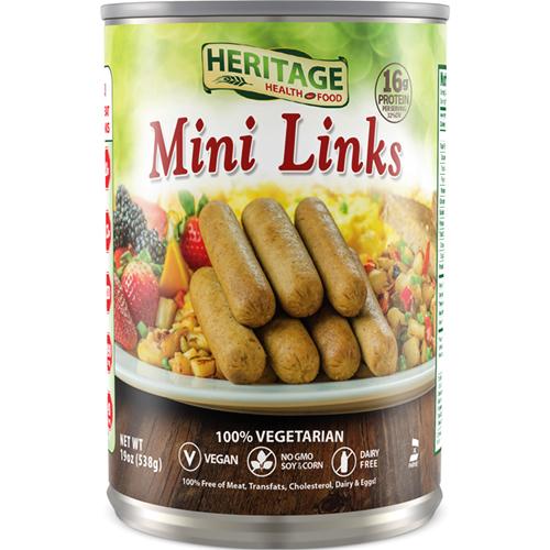 HERITAGE - MINI LINKS 100% VEGETARIAN - 19oz