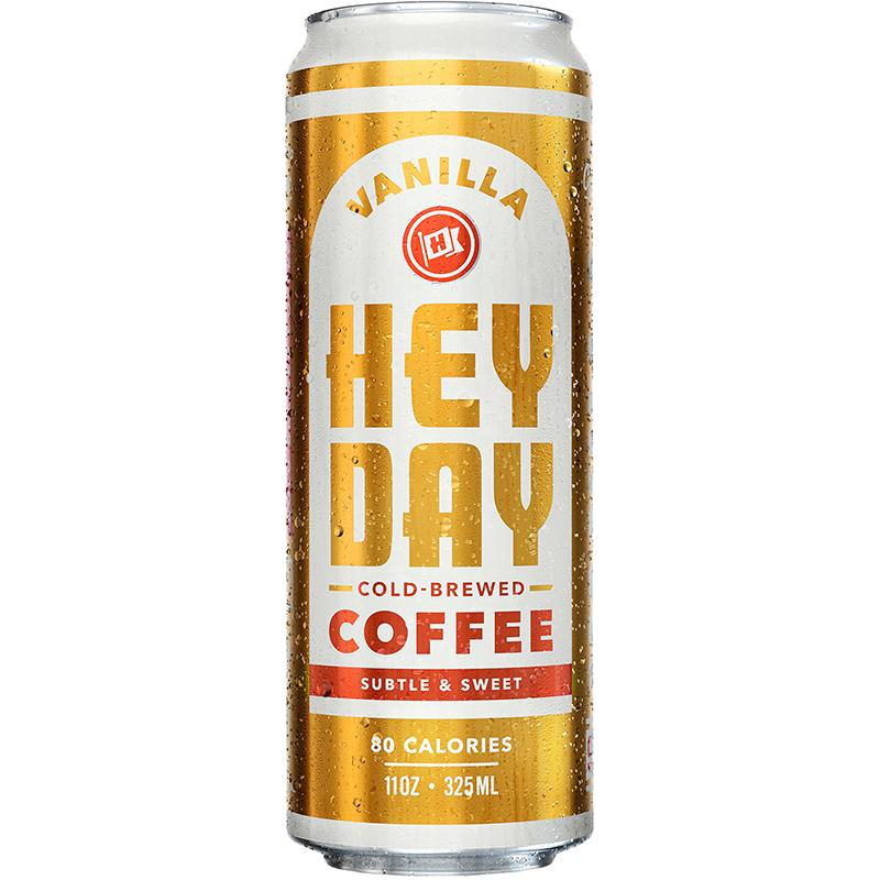 HEYDAY - COLD · BREW COFFEE - (Vanilla) - 11oz