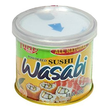 HIME - POWDERED SUSHI WASABI - 0.88oz