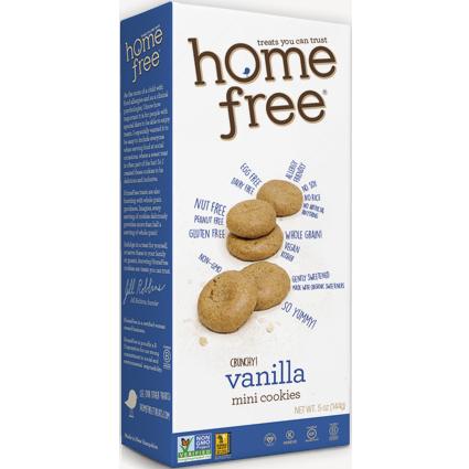HOME FREE - MINI COOKIES - (Vanilla) - 5oz