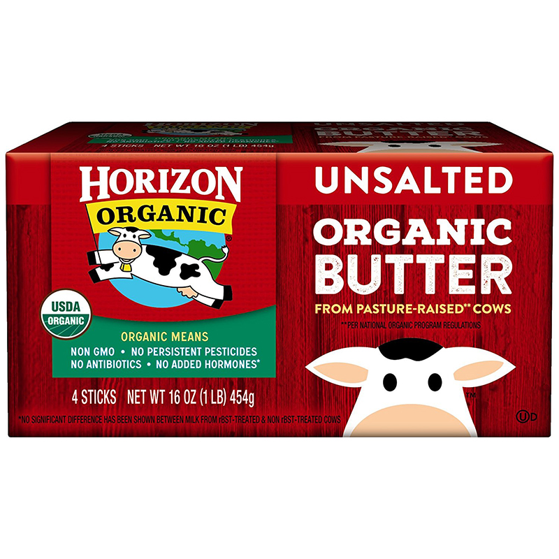 HORIZON - ORGANIC BUTTER - (Salted) - 16oz
